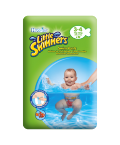 Huggies Little Swimmers Swim Pants Size 3-4 7kg-15kg, 15lb-34lb 12 Pants