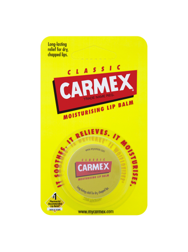 Carmex Classic Moisturising Lip Balm 7.5g