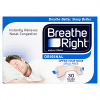 Breathe Right Nasal Strips Original 30 Sm/Med Strips
