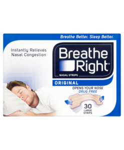 Breathe Right Nasal Strips Original 30 Large Strips