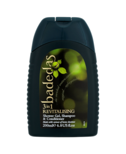 Badedas Revitalising Shower Gel, Shampoo & Conditioner 200ml