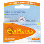 EarPlanes Protection from Flight Ear Discomfort for Kids & Smaller Ears One Pair