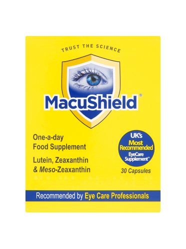 MacuShield One-A-Day Food Supplement 30 Capsules