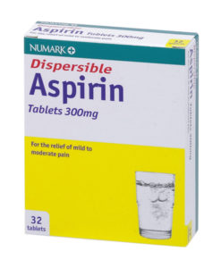 Numark Dispersible Aspirin 300mg Tablets