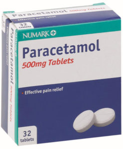 Numark Paracetamol 500mg Tablets