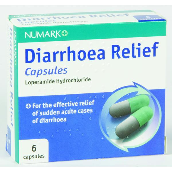 Numark Diarrhoea Relief Capsules