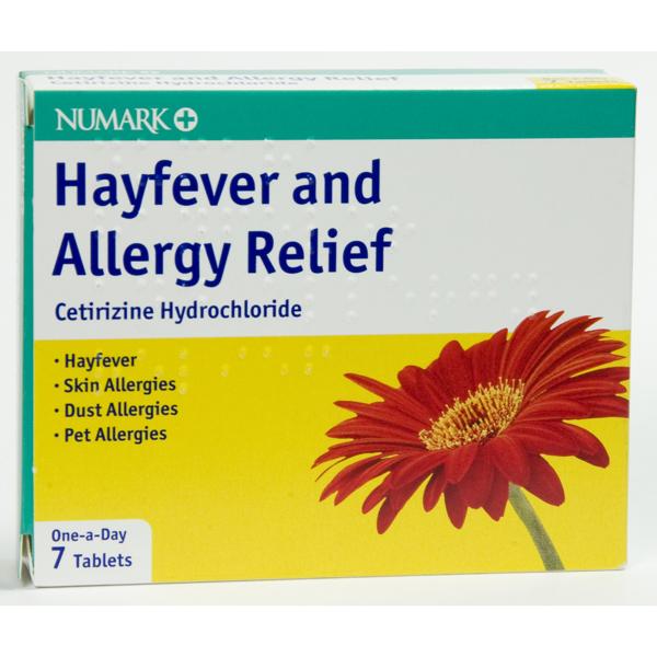Numark Hayfever & Allergy Relief Tablets