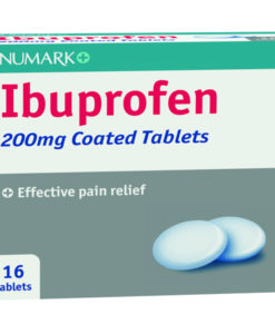 Numark Ibuprofen 200mg Tablets