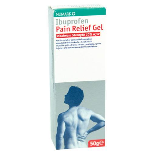 Numark Max Strength Ibuprofen Pain Relief 10% Gel