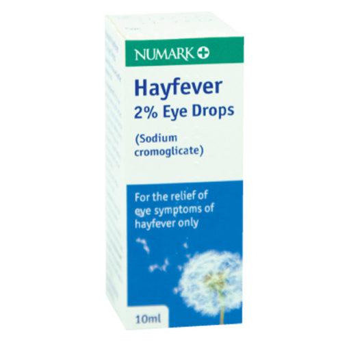 Numark Hayfever 2% Eye Drops