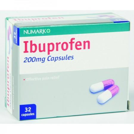Numark Ibuprofen 200mg Capsules