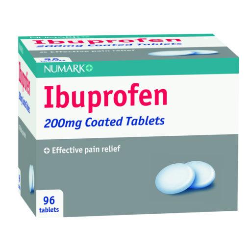 Numark Ibuprofen 200mg Tablets