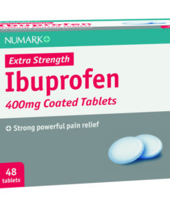 Numark Max Strength Ibuprofen 400mg Tablets