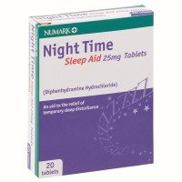 Numark Night Time Sleep Aid 25mg Tablets