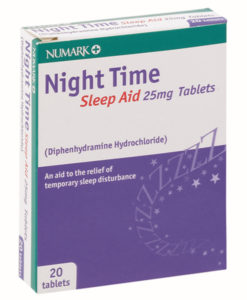 Numark Night Time Sleep Aid 25mg Tablets