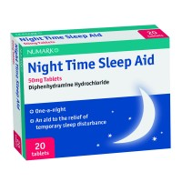 Numark Night Time Sleep Aid 50mg Tablets
