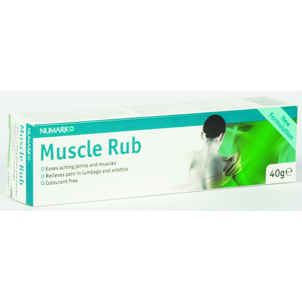Numark Muscle Rub