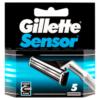 Gillette Sensor Men's Razor Blades, 5 Count