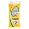 BIC 2 Sensitive Shaver Pack 5