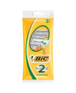 BIC 2 Sensitive Shaver Pack 5