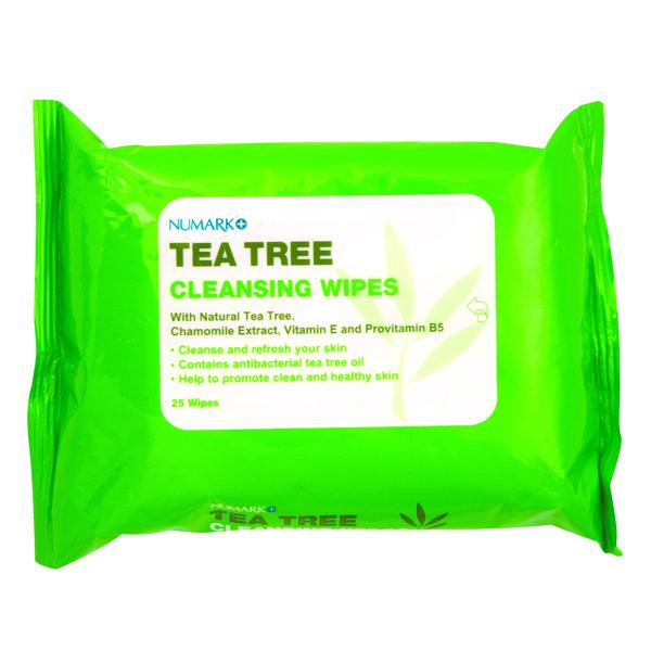 Numark Tea Tree Cleansing Wipes