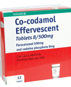 Numark Co-codamol 8/500mg Effervescent Tablets
