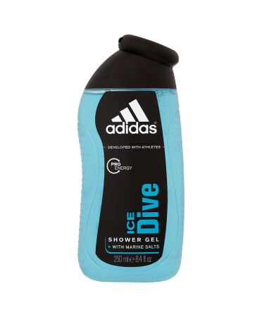 Adidas Pro Energy Ice Dive Shower Gel with Marine Salts 250ml