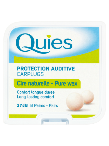 Quies Protection Auditive Earplugs 8 Pairs