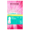 Carefree with Cotton Extract Fresh 20 Breathable Pantyliners