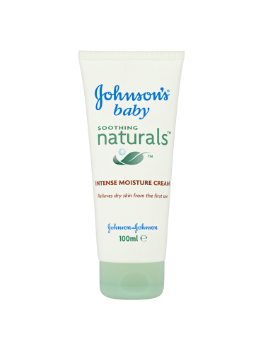 Johnson's Baby Soothing Naturals Intense Moisture Cream 100ml