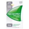 Nicorette Original Flavour Sugar-Free Gum 4mg Nicotine 105 Pieces