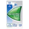 Nicorette Icy White 2mg Gum Nicotine 105 Pieces