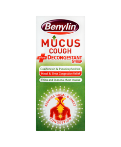 Benylin Mucus Cough Plus Decongestant Syrup 100ml