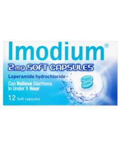 Imodium 2mg Soft Capsules 12 Soft Capsules
