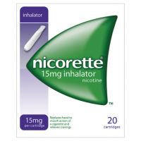 Nicorette 15mg Inhalator 20 Cartridges