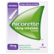 Nicorette 15mg Inhalator 4 Cartridges
