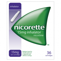 Nicorette 15mg Inhalator 36 Cartridges