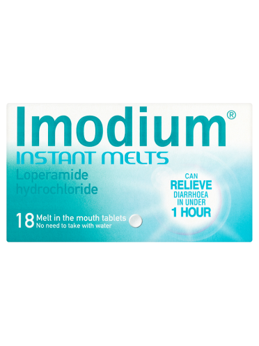 Imodium Instant Melts 18 Melt in the Mouth Tablets