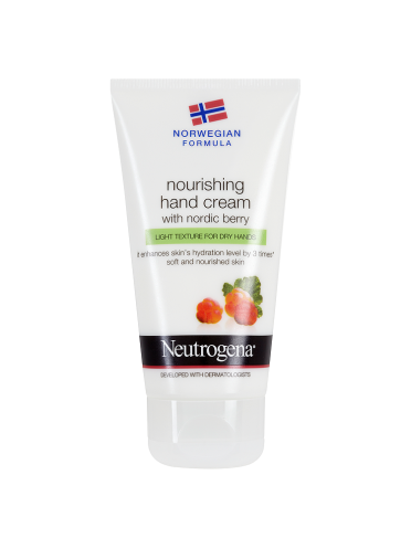 Neutrogena Norwegian Formula Nourishing Hand Cream with Nordic Berry 75ml