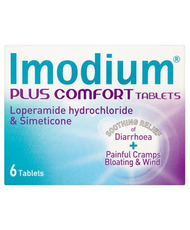 Imodium Plus Comfort Tablets 6 Tablets
