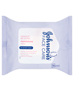 Johnson's Face Care MakeUp Be Gone Pampering Wipes 25 Wipes