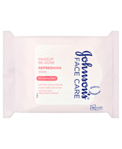 Johnson's Face Care Makeup Be Gone Refreshing Wipes 25 Wipes