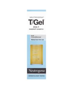 Neutrogena T/Gel 2-in-1 Dandruff Shampoo Plus Conditioner 250ml