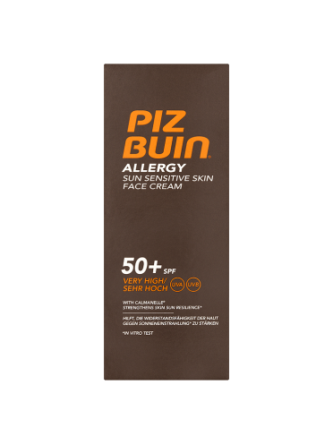 Piz Buin Allergy Sun Sensitive Skin Face Cream SPF 50+ 50ml