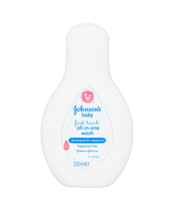 Johnson's Baby First Touch All-In-Wash 250ml