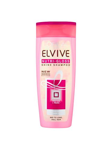 L'Oreal Elvive NutriGloss Shine Shampoo 250ml