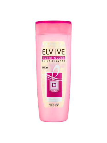 L'Oreal Elvive Nutri-Gloss Shine Shampoo 400ml
