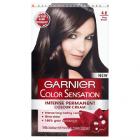 Garnier Colour Sensation Permanent Cream 4.0 Deep Brown