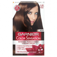 Garnier Colour Sensation Permanent Cream 4.30 Myst Brown