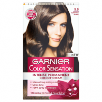 Garnier Colour Sensation Permanent Cream 5.0 Luminous Brown